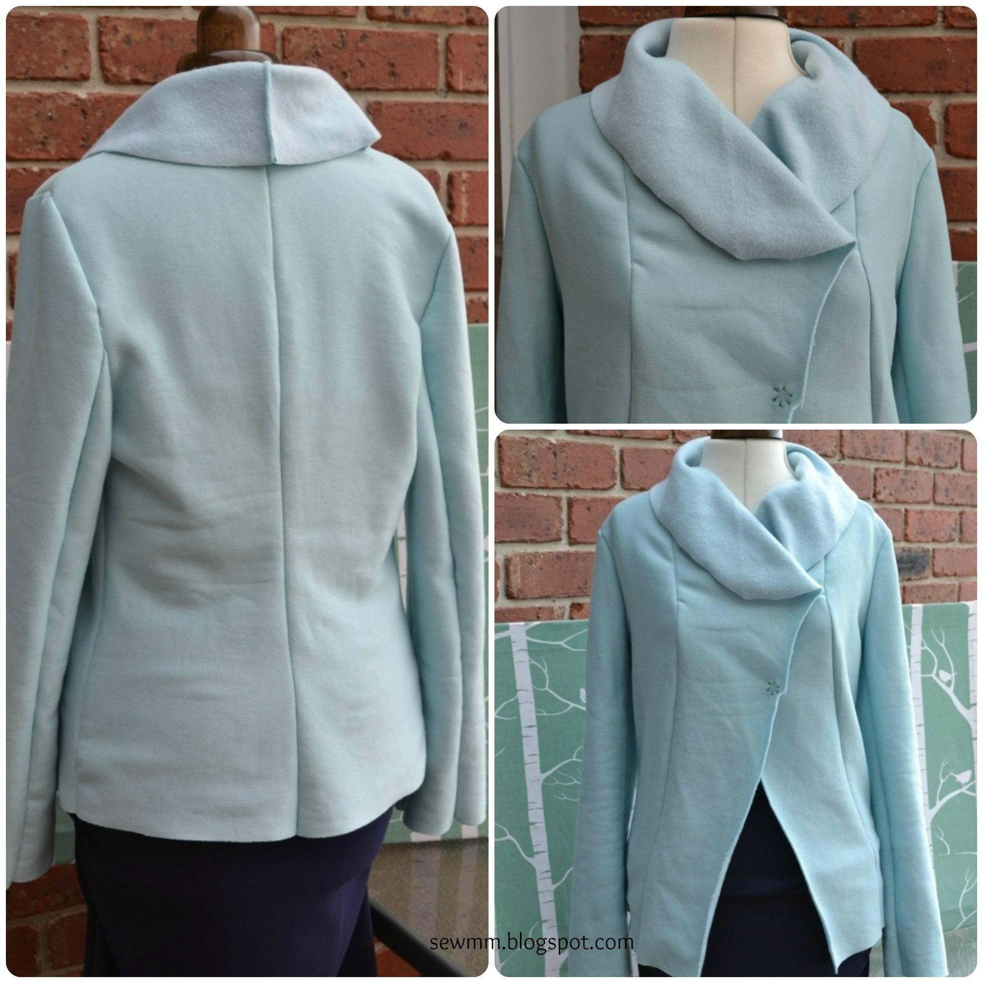 Duck egg blue, Fleece jacket – Sewing Projects ...