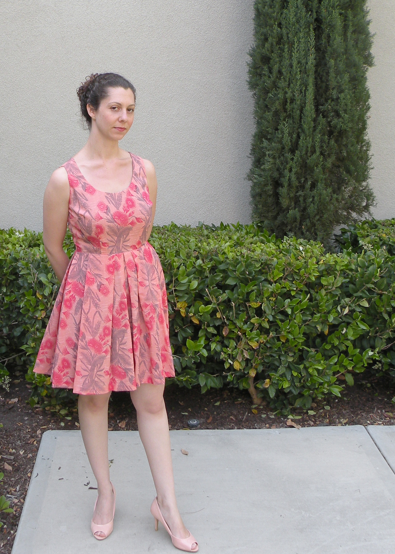 Pretty in Pink Wedding Guest Dress – Sewing Projects