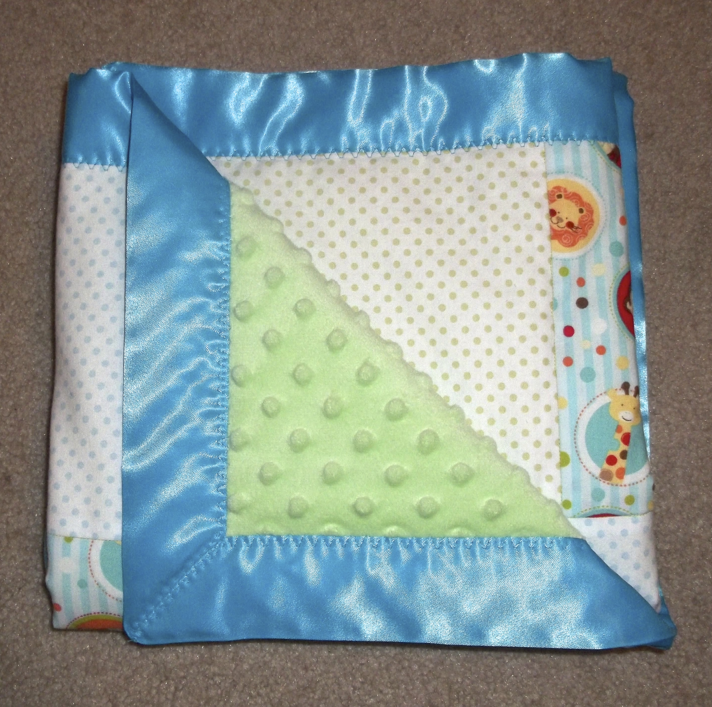 a blanket for baby � sewing projects burdastylecom