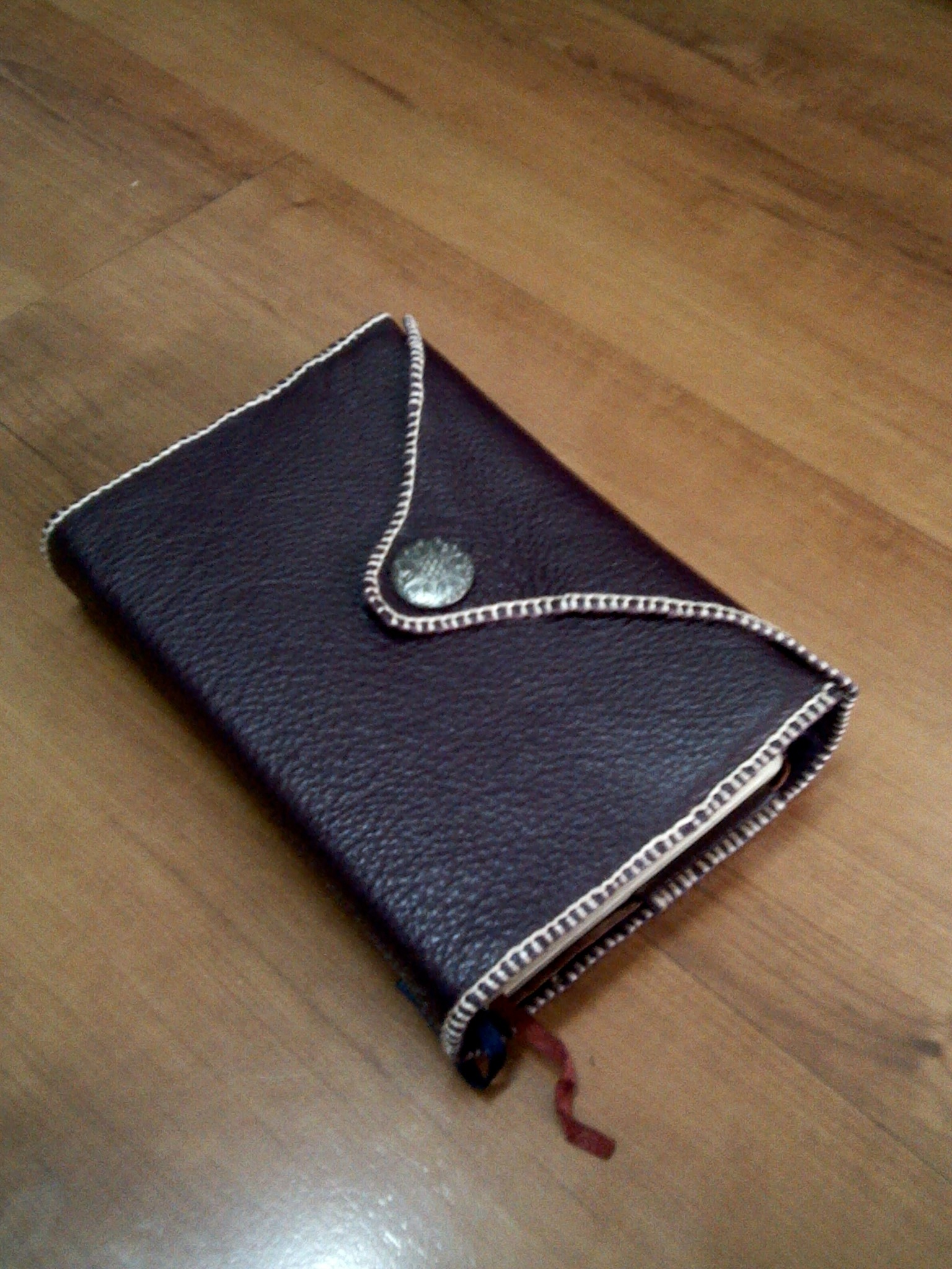 Book Cover Sewing Kit ~ Leather book cover sewing projects burdastyle