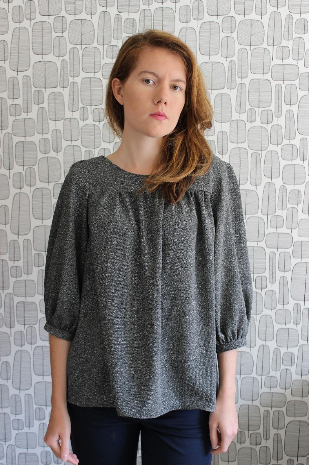 Free mathilde blouse pattern silk pintuck blouse free mathilde blouse pattern 8 jeuxipadfo Image collections