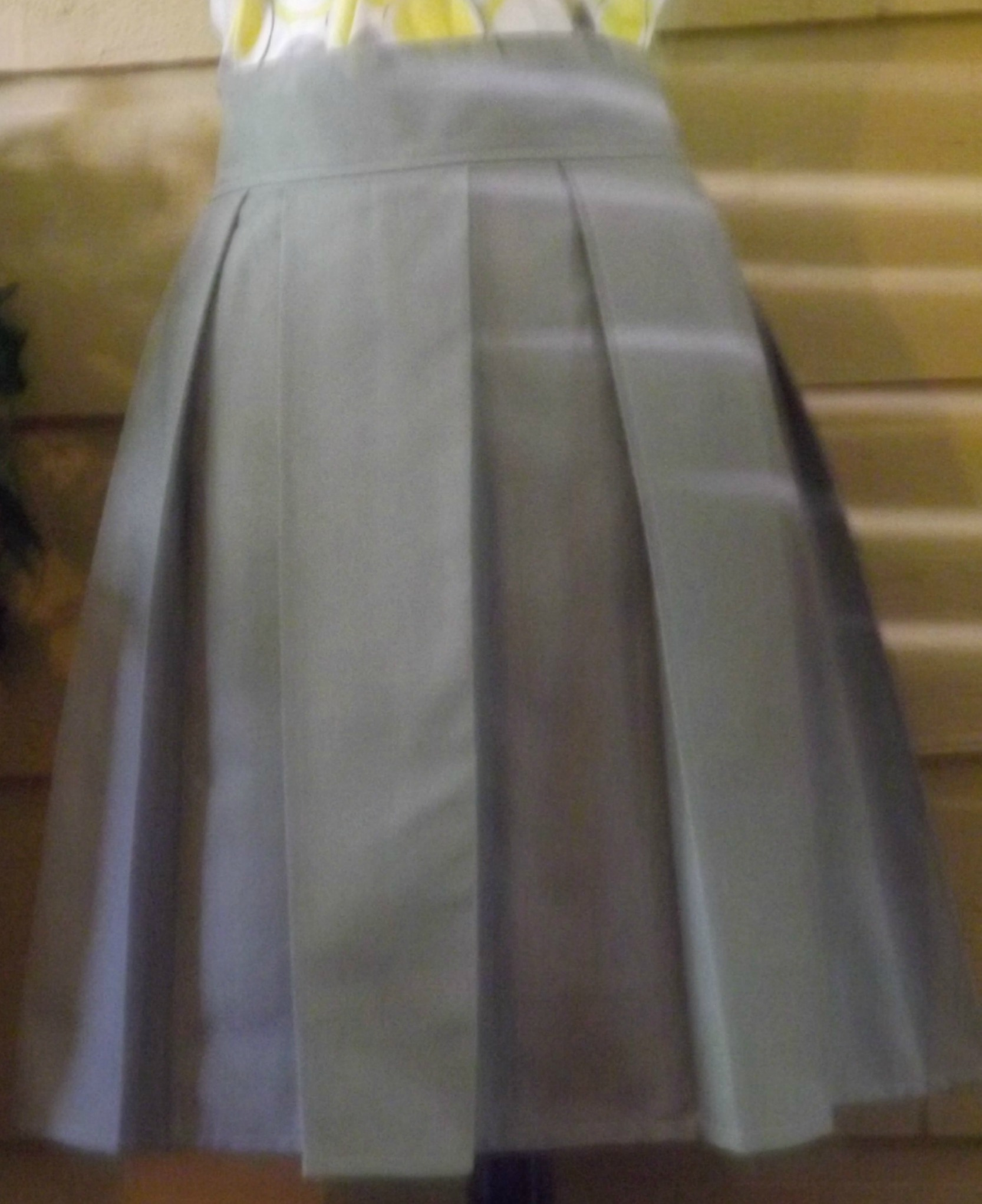 s gray box pleated skirt sewing projects