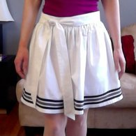 Cream_gathered_skirt_with_border_stripes_-_butterick_5613_view_a_listing