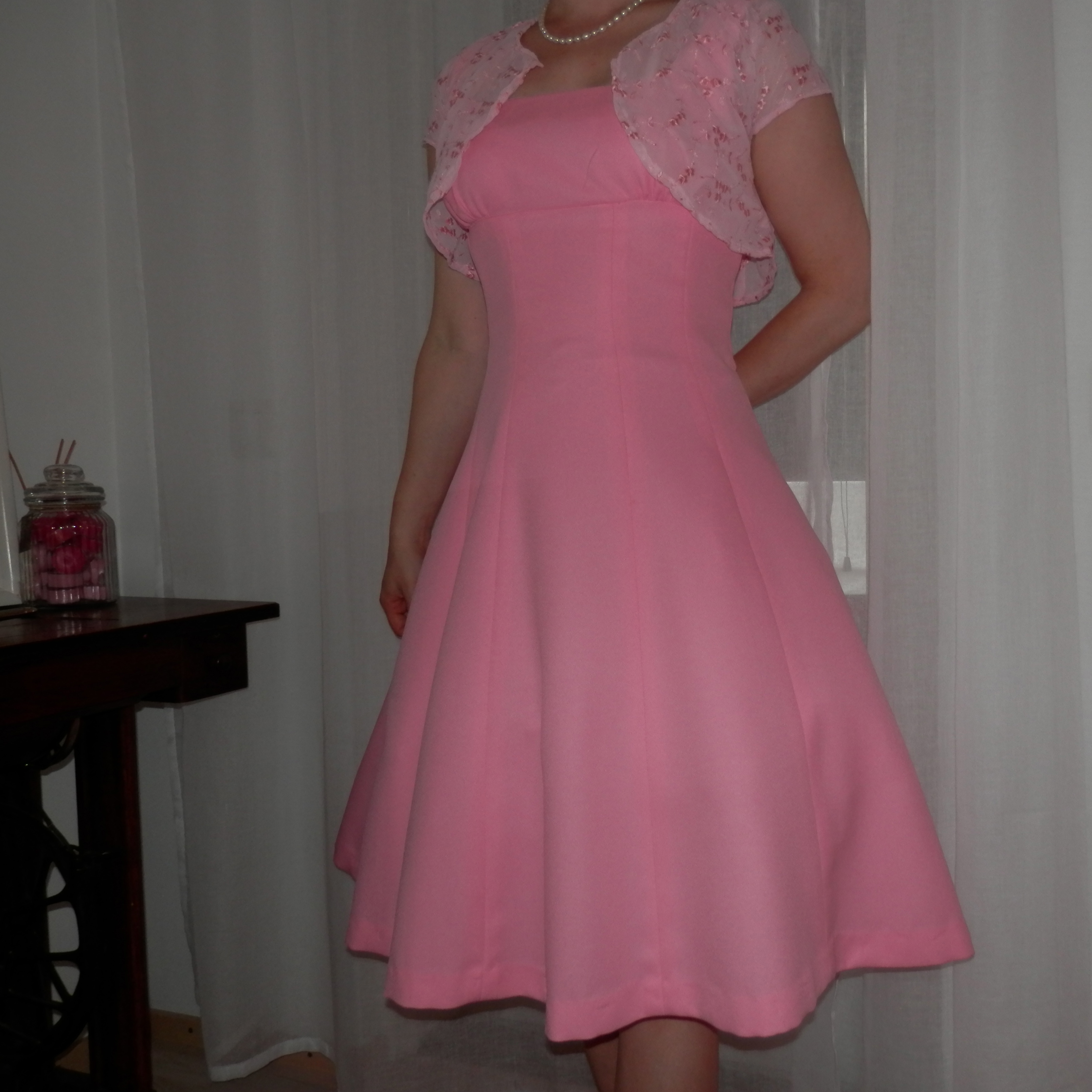 Pink dress for my brother 39 s wedding sewing projects for Dress for my brothers wedding