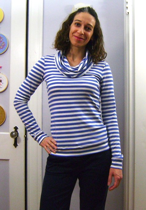 Sewaholic_renfrew_6_blue_striped_cowl_neck_-_hand_on_hip_large