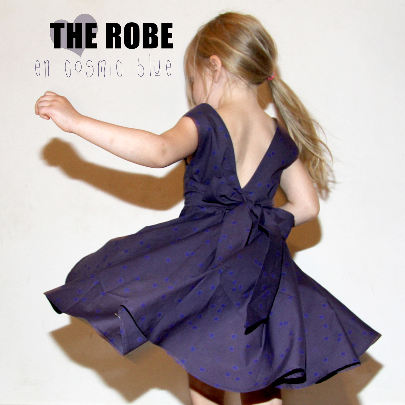 The dress in cosmic blue sewing projects for Cosmic pattern clothing