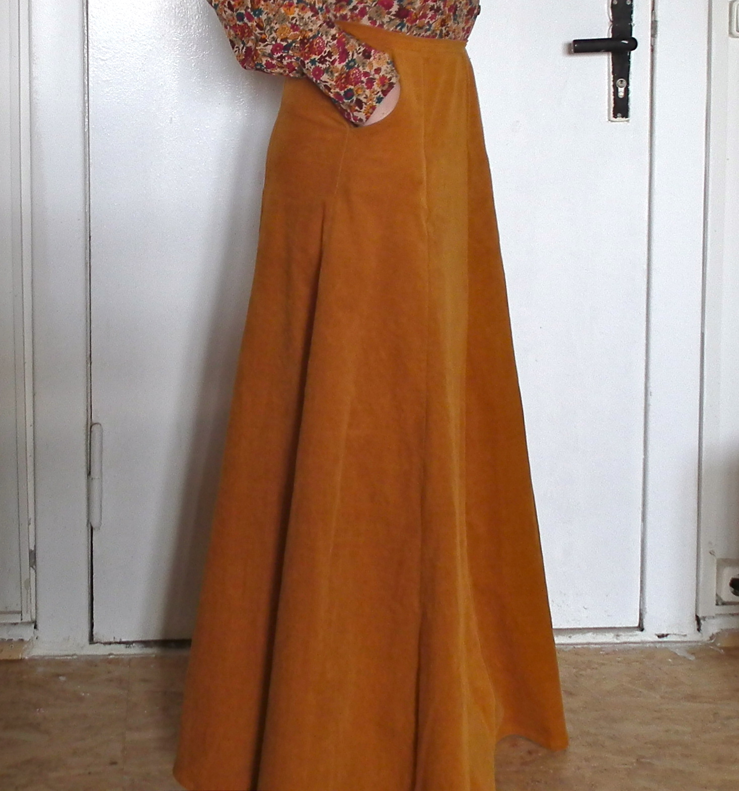 maxi skirt with pockets sewing projects burdastyle