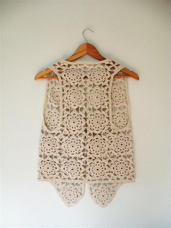 Crochet vest for Danielle! ? Sewing Projects BurdaStyle.com