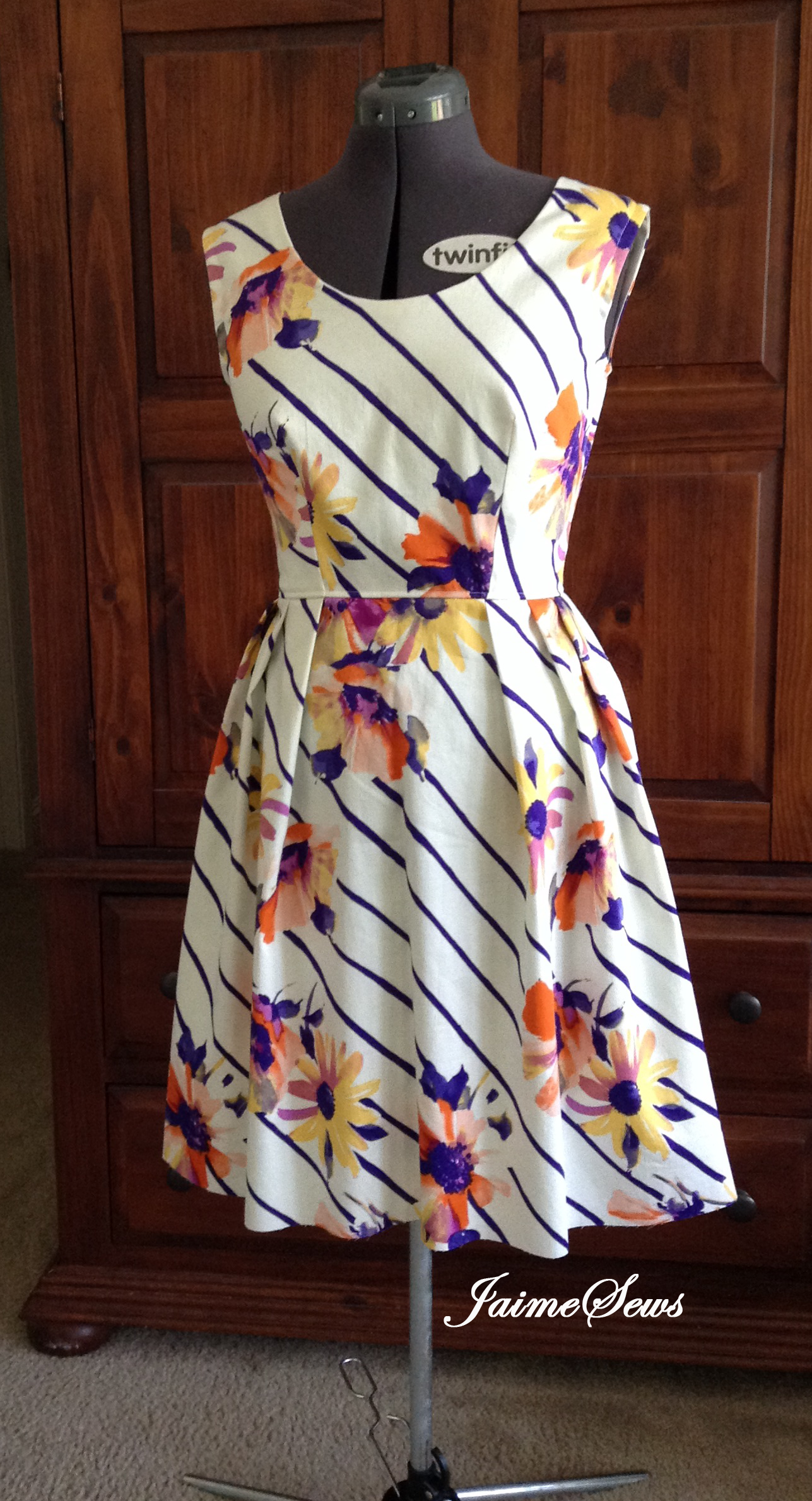 My Easter Garden Party Dress Sewing Projects