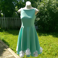 Fit_n_flare_mint_dress_listing
