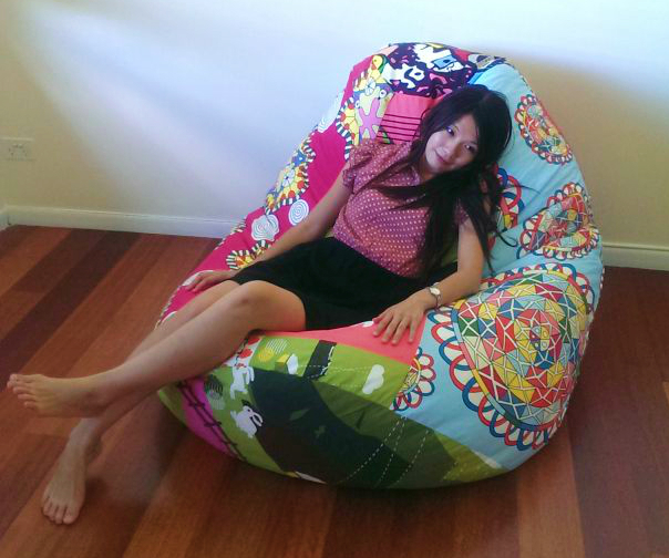 Burdadeco Bean Bag Chair 8373 No 2 Sewing Projects
