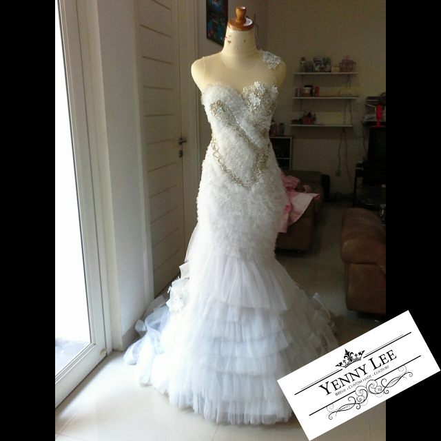 Wedding dress 2 sewing projects for Haute couture seamstress