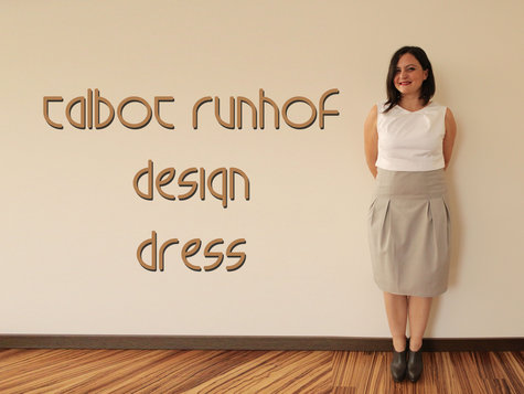 talbot runhof designer dress sewing projects. Black Bedroom Furniture Sets. Home Design Ideas