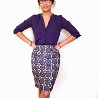 Self_drafted_pencil_skirt_listing