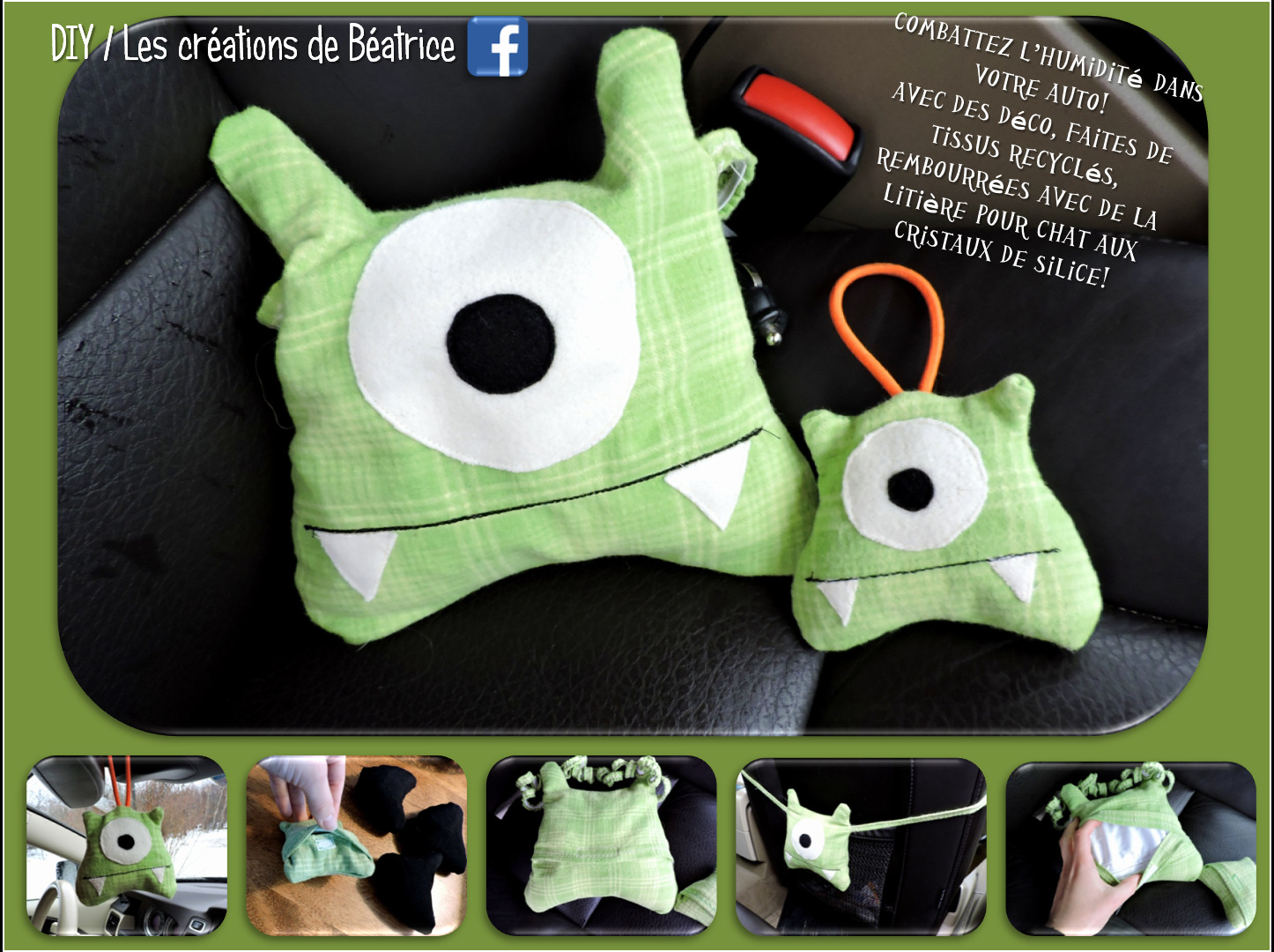 fight the humidity in your car with carlos the monster sewing projects. Black Bedroom Furniture Sets. Home Design Ideas