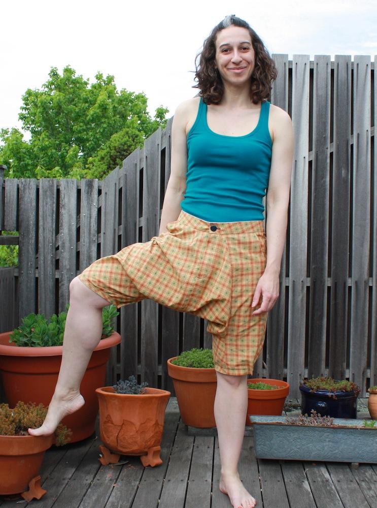 "She Wears It Well Bbc News Presenter Ellie Crisell On: Sarrouel Trousers Muslin From ""She Wears The Pants"