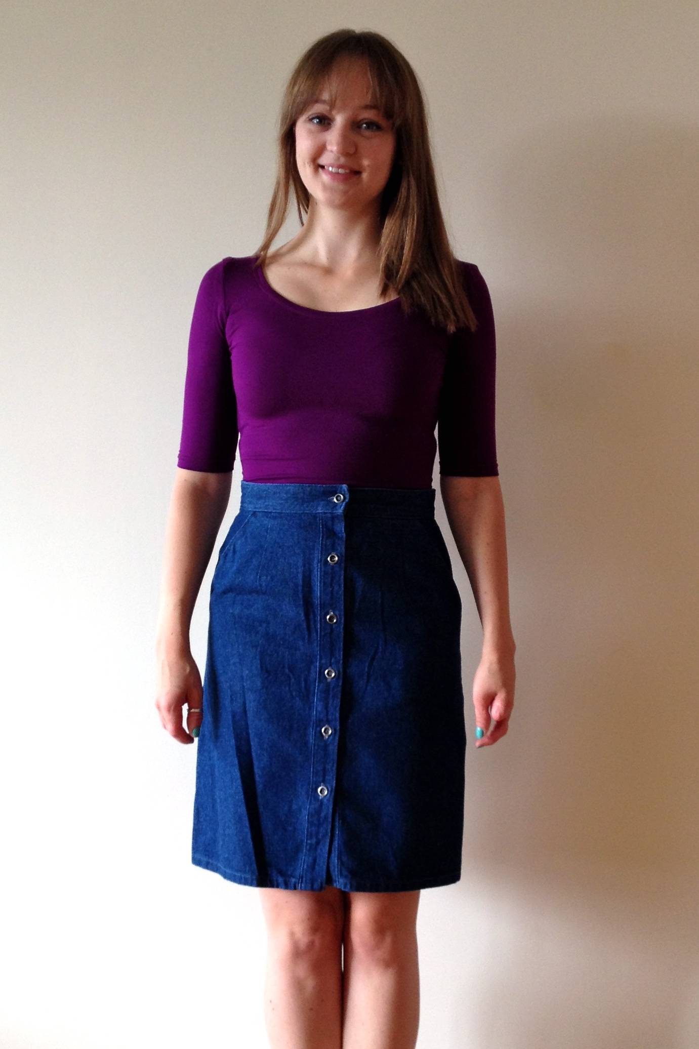 Bamboo Jersey Agnes Top & Denim M6696 Skirt – Sewing ...