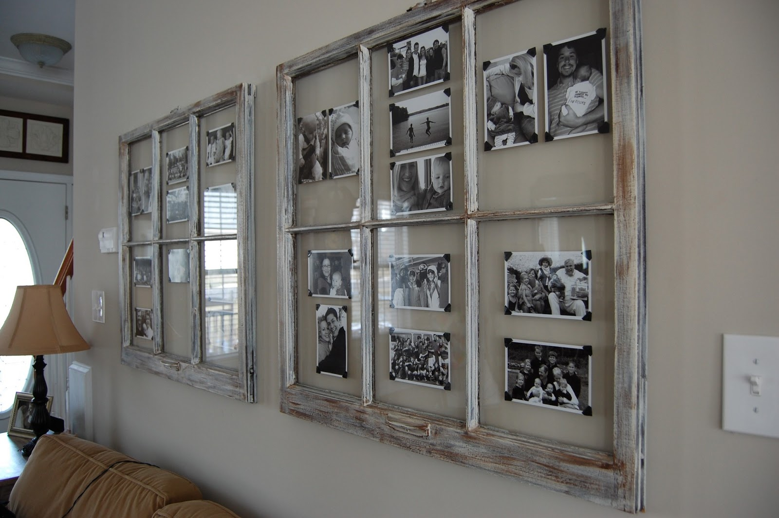window pane picture frame diy images craft decoration ideas diy picture frame of an old window - Windowpane Picture Frame
