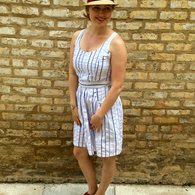 White_and_blue_stripe_pattern_runway_sundress_listing