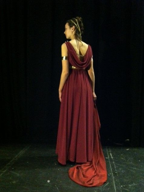 Costume for Oedipus Rex' Jocasta – Sewing Projects ... Oedipus And Jocasta