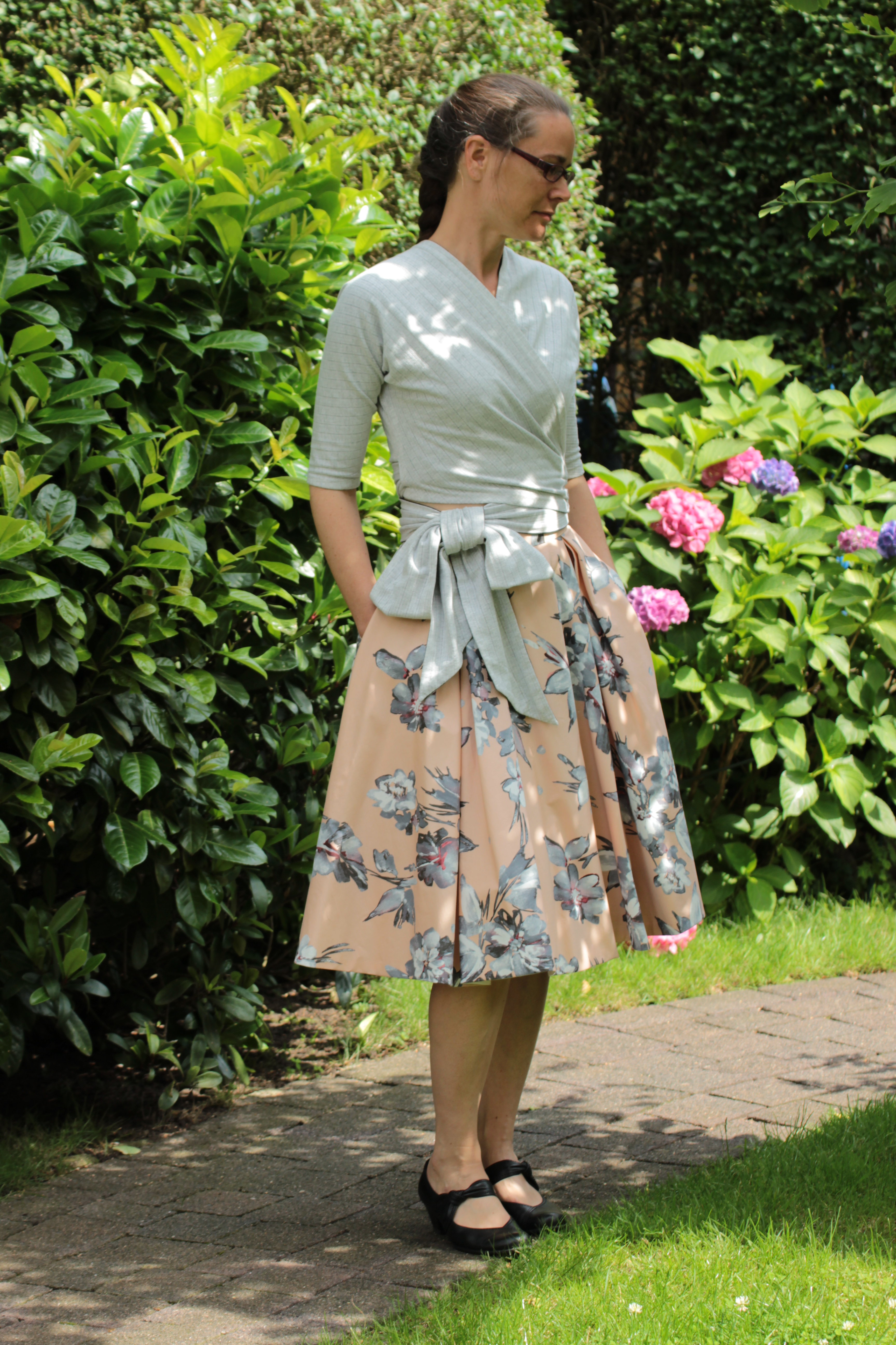 Butterick 6285 Top And Skirt Sewing Projects