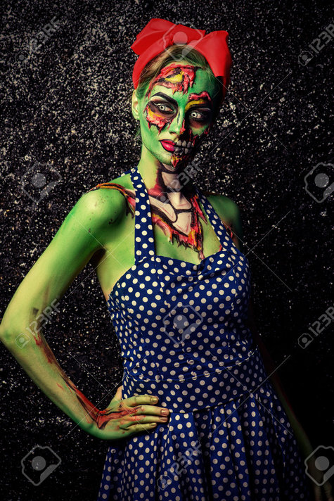 60568829-frightening-pin-up-zombie-girl-over-dark-background-body-painting-project-halloween-make-up-horror--stock-photo_large