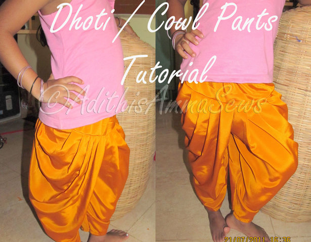 how to wear dhoti bengali style step by step
