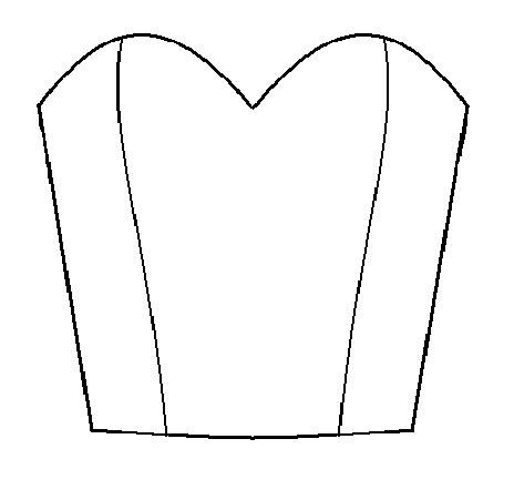 Draft a bodice with sweetheart neckline – Learning Sewing ...
