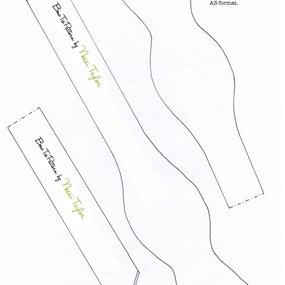 Free Bow Tie Scarf Pattern