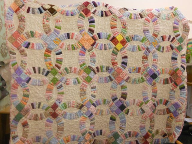 wedding ring quilts wedding ring quilt sewing projects burdastyle 9980